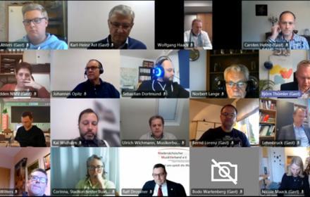 NMV: Videokonferenz mit Minister Björn Thümler - Pressemitteilung