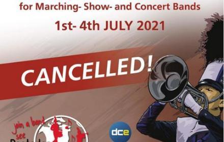Rasteder Musiktage 2021 - Absage der Weltmeisterschaften der WAMSB / Presse-Mitteilung